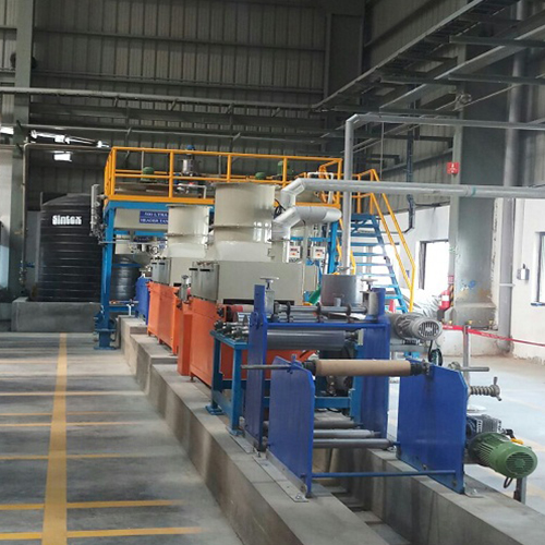 Commercial Scale Coating Line